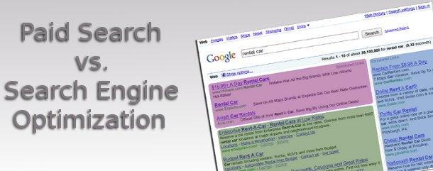 paid search vs. seo