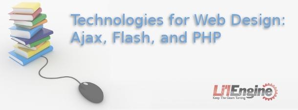 technologies for web design