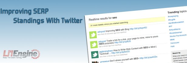 Improving SERP with Twitter