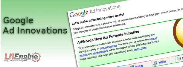 Google ad innovations