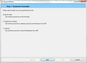 Microsoft Ad Intelligence keyword tool