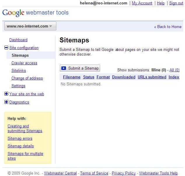 Google Sitemaps: Sitemaps For Search Engines « Web Moves Blog