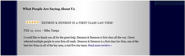 Denmon Review