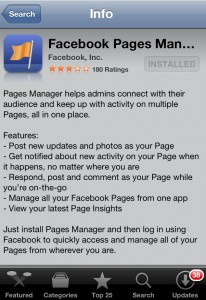 Facebook Pages Manager - App Store