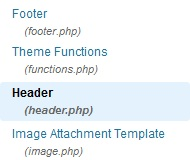 SEO Moves - Author Credit - Header WordPress Template