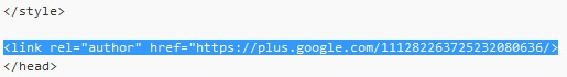 SEO Moves - Author Credit for Single Author - Hardcoded Example