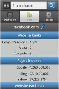 SEO Moves - Mobile Analytics - WebRank Stats