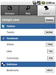 SEO Moves - Mobile Analytics - Social Stats