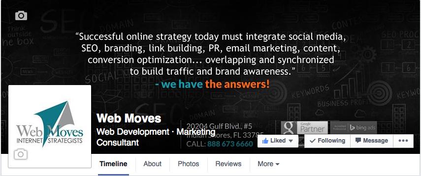Web Moves - Facebook